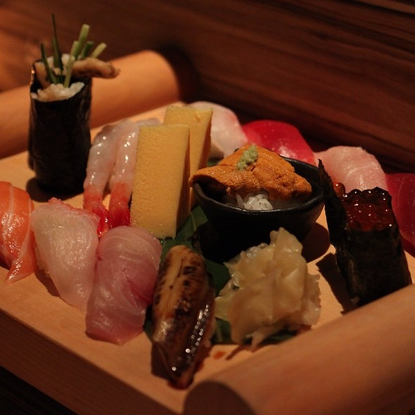 Assorted nigiri (特選握壽司)