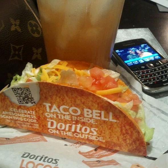 Dorito taco @ Taco Bell