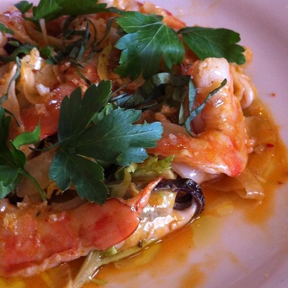 Chilled Seafood Salad @ Terrapin Creek Cafe / Restaurant