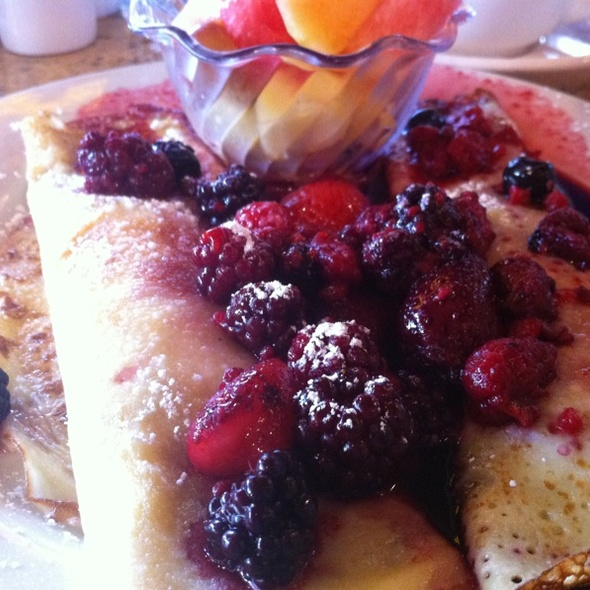Crepes Normandy @ Main Street Bakery
