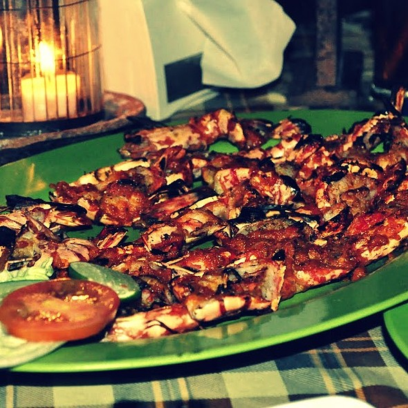 Assorted Grilled Seafood @ Jimbaran Bay, Bali