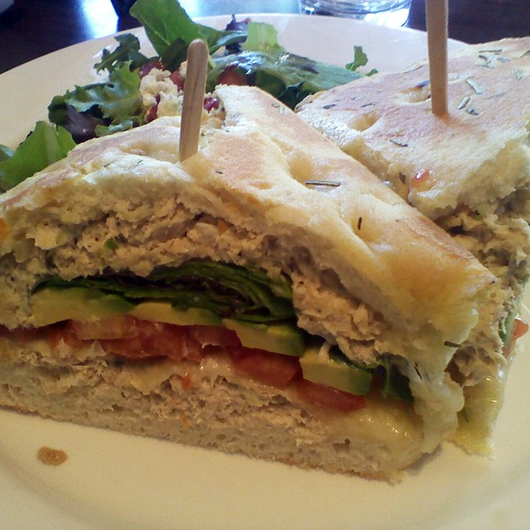 Tuna Melt @ Zanzibar Cafe