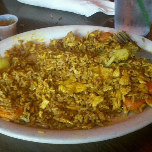 Chicken Curry @ Mr. Bone's Bbq