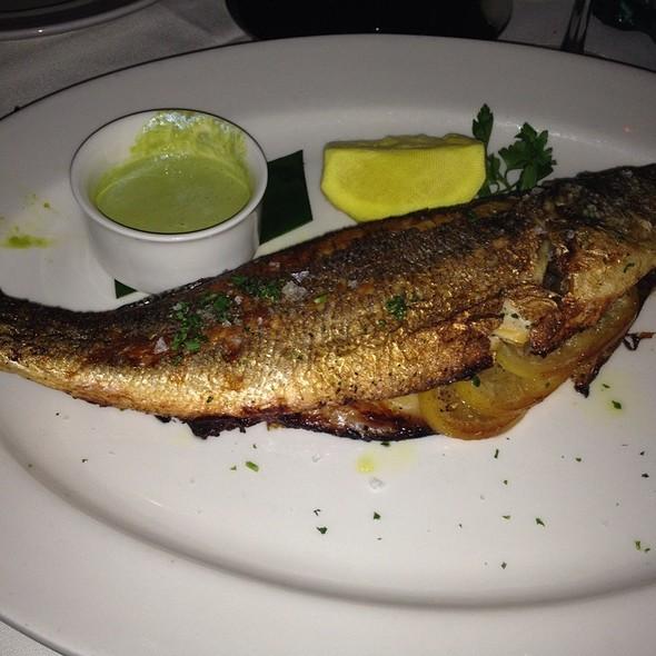 Whole Branzino A La Plancha - PassionFish - Reston VA, Reston, VA