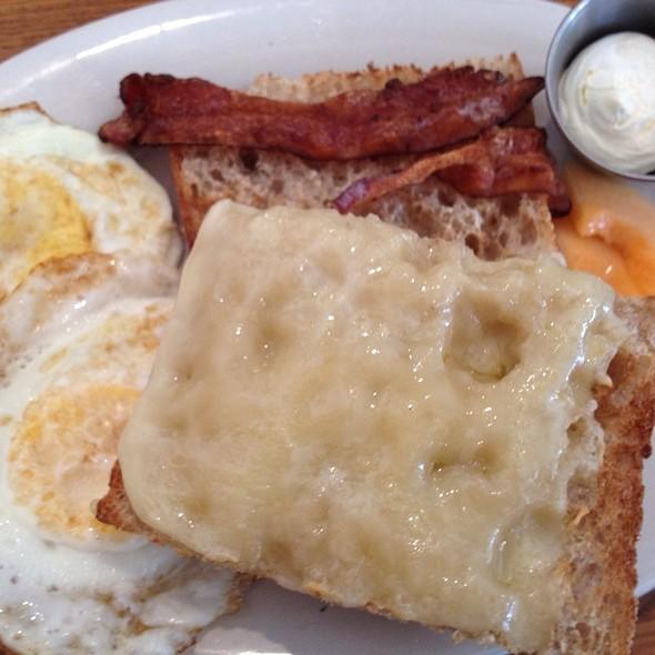 Sunny Side Egg Sandwhich @ Atticus Bookstore/Café
