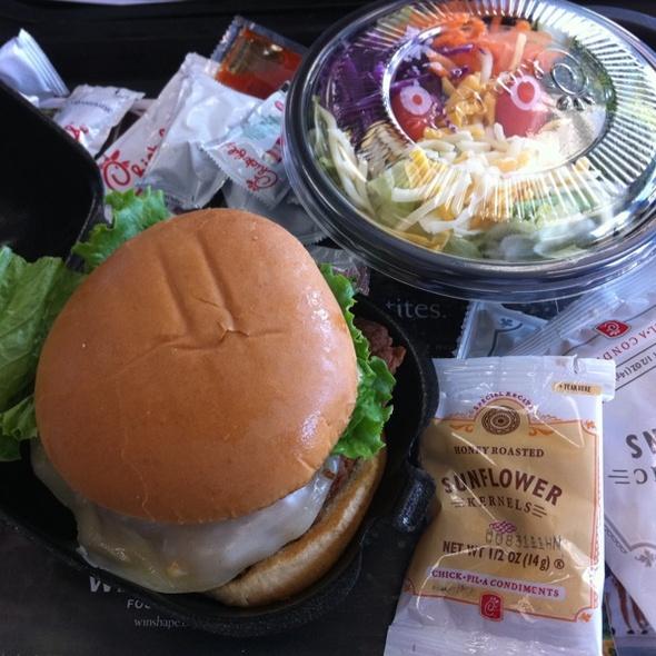 Spicy Chicken Sandwich @ Chick-fil-A