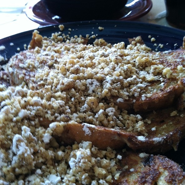 California French Toast @ Pamela's P & G Diner