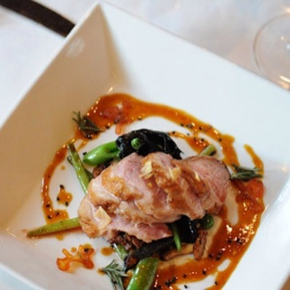 Maple Leaf Duck Breast @ Rue Saint Jacques Restaurant