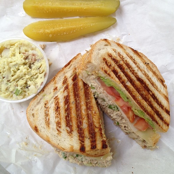 Tuna Melt @ the Bagel Bakery SF