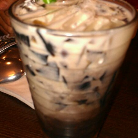 Red Bean And Grass Jelly Drink @ ABC Bakery Cafe