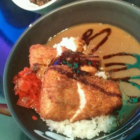 Fish Katsu Curry Bowl @ Ki Sushi