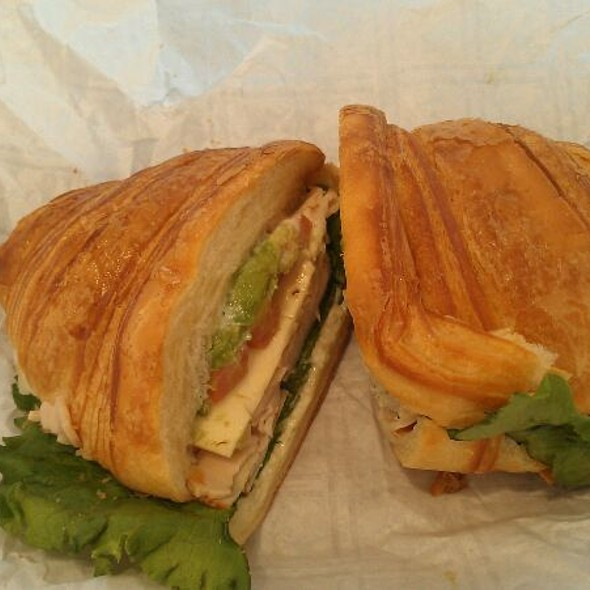 Turkey Avocado Sandwich @ Boudin Sourdough Bakery & Cafe: Stonestown