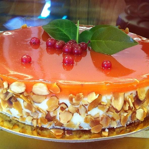 Orange Ricotta Cheesecake @ Masse's Pastries