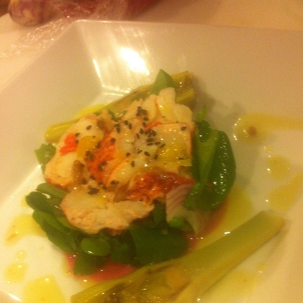 Lobster Salad @ Rue Saint Jacques Restaurant