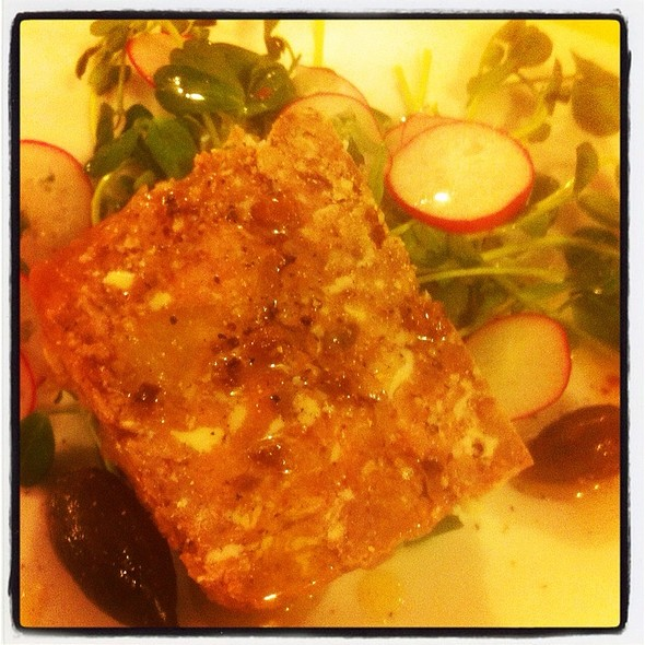 Veal And Apple Terrine @ Rue Saint Jacques Restaurant