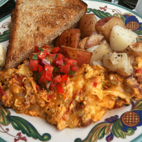 Scrambled Eggs Mexico @ Zazie