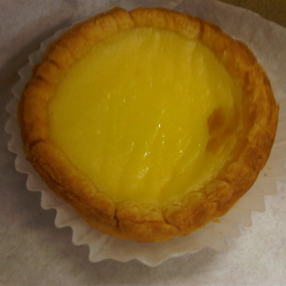 Egg Custard Tart @ Golden Gate Bakery