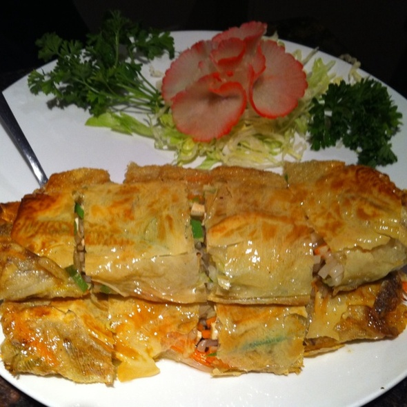 Crispy Tofu Crepes @ Yangtze River Restaurant