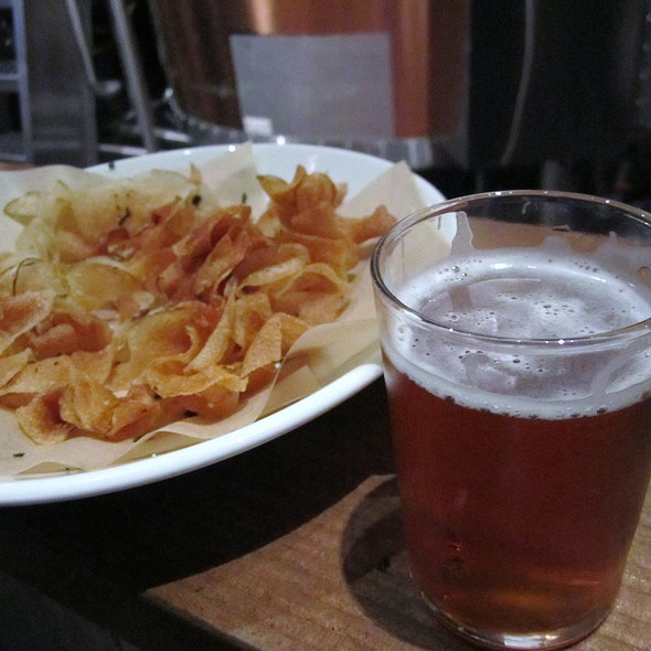 Beer and Chips @ Abigaile Restaurant