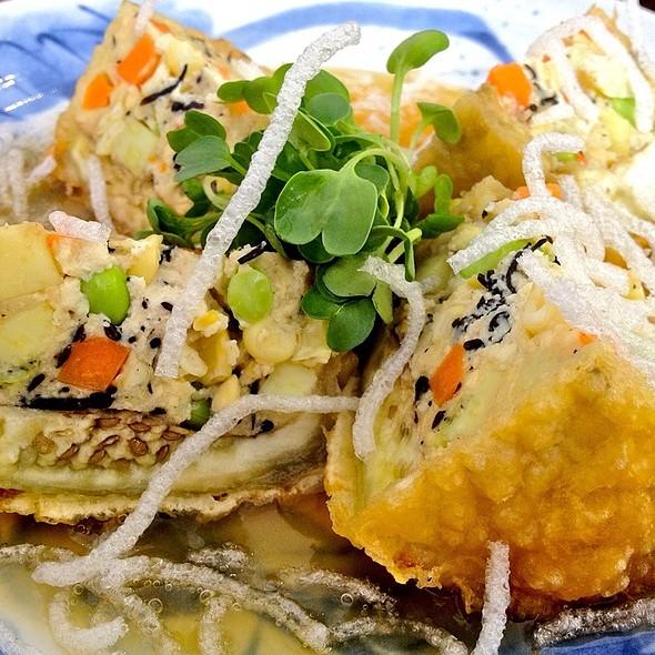 Tonchi Nasu ( Stuffed Eggplant) @ Cha-Ya Vegetarian Japanese Restaurant