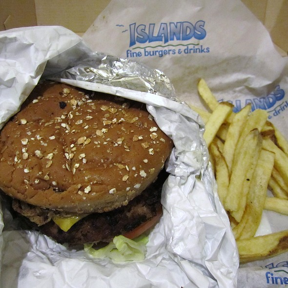 Mavericks Burger @ Islands Fine Burgers & Drinks