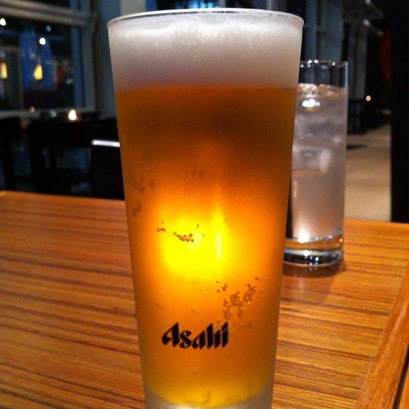 Asahi Beer @ Fuku Restaurant Sake And Wine