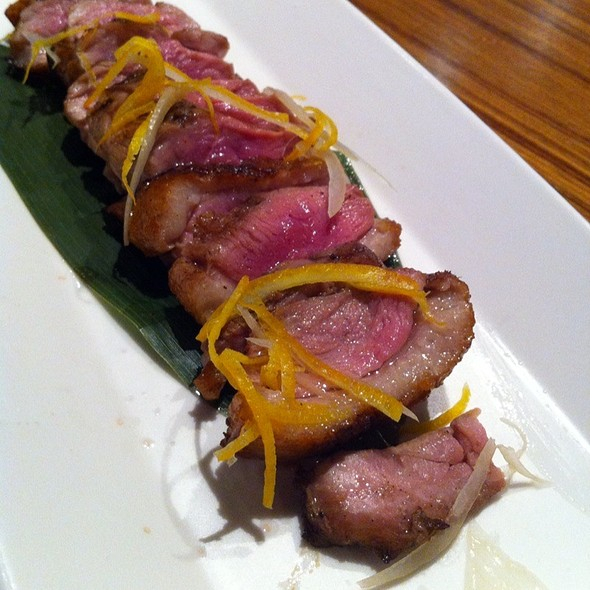 Five Spiced Duck Breast @ Fuku Restaurant Sake And Wine