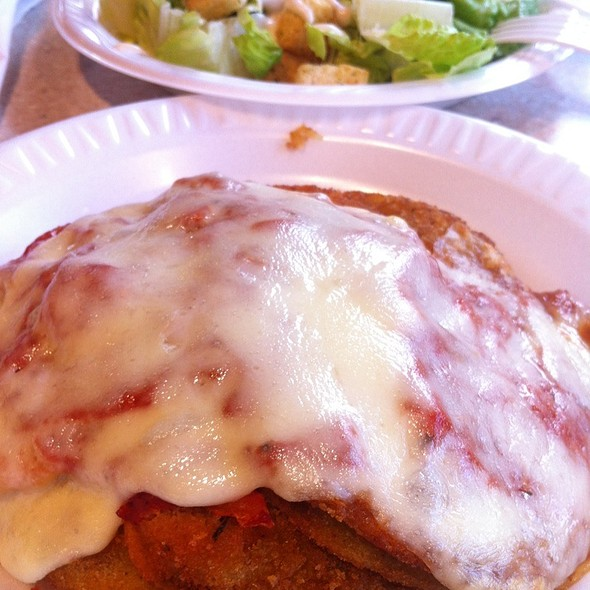 Egg Plant Parmigiana @ The Skinny Chef Inc
