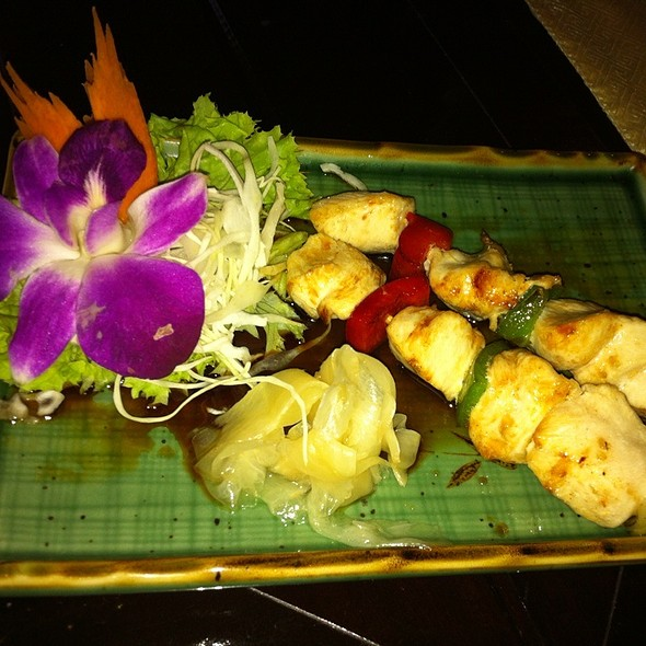 Pouletspiessli @ Angkor Asiatisches Restaurant