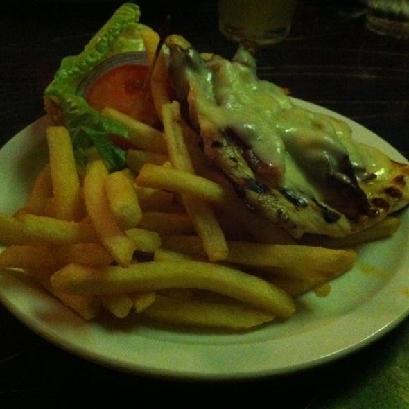 Chicken Sandwich @ 18th & U Duplex Diner