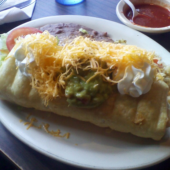 Chicken Chimichanga @ Salazar's Fine Mexican Food