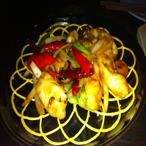 Pan Caramelized Miso-Yaki Sea Bass @ Hakkasan