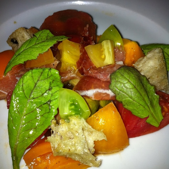 Heirloom Tomato Salad @ Bouchon