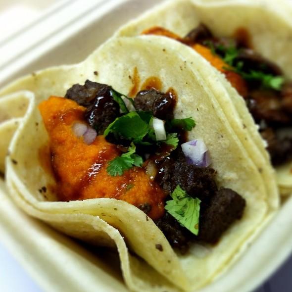 Asian Asada Taco @ Kung Fu Tacos