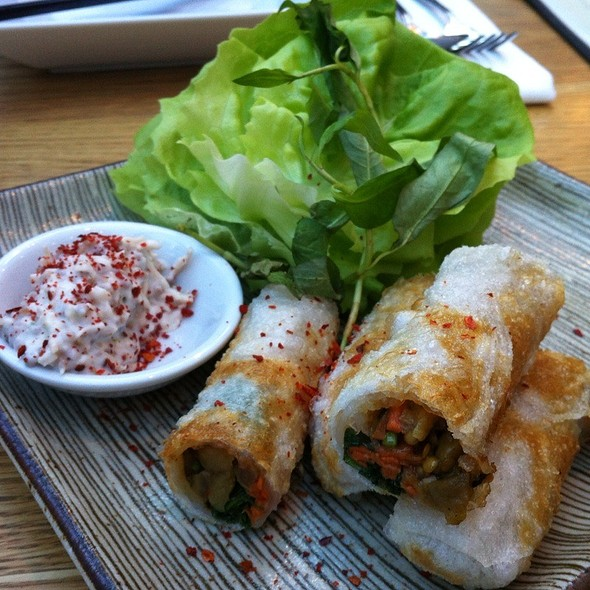 Eggplant Spring Roll - Sidedoor Contemporary Kitchen & Bar, Ottawa, ON