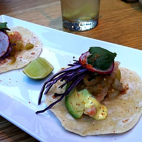 Bajan Crispy Fish Taco - Sidedoor Contemporary Kitchen & Bar, Ottawa, ON