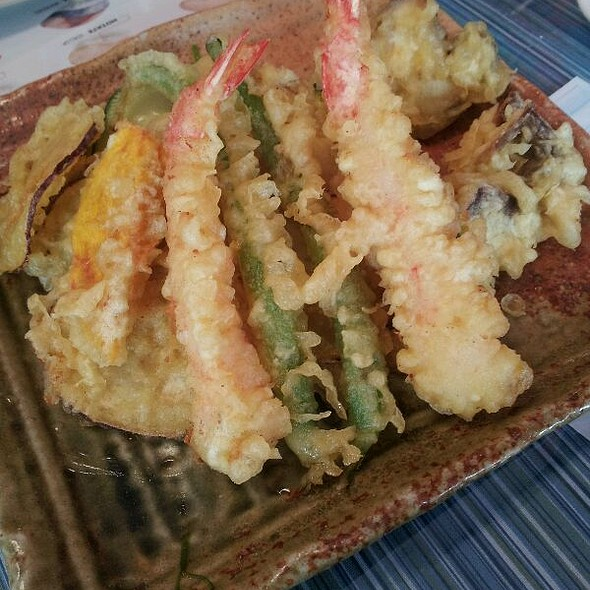 Shrimp And Vegetable Tempura @ Mountain View Restaurant