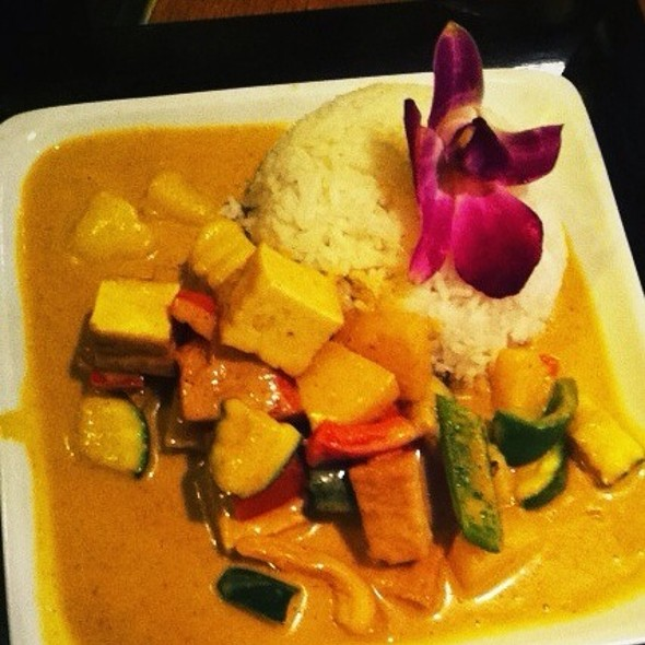 Yellow Curry With Tofu @ Restaurant Mishio
