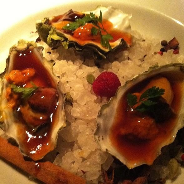 Oysters And Foie Gras @ Morimoto
