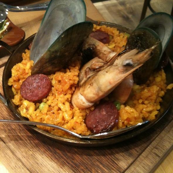 Seafood Paella @ Viva Ana
