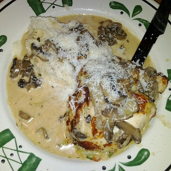 Foodspotting Stuffed chicken marsala olive garden