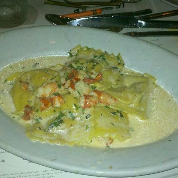 Lobster Ravioli @ Romano's Macaroni Grill