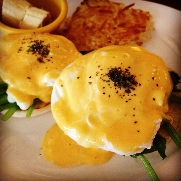 Spinach Eggs Benedict @ 翻滾吧,蛋捲