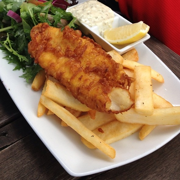 Fish and Chips @ Speight's Ale House