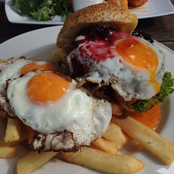 Beef Burger @ Speight's Ale House