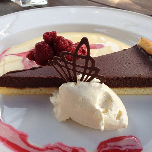 Chocolate Tart @ Speight's Ale House