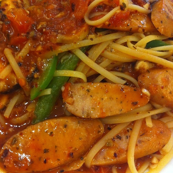 Chicken Italian Sausage Pasta @ The Cafe Cartel (Siglap)