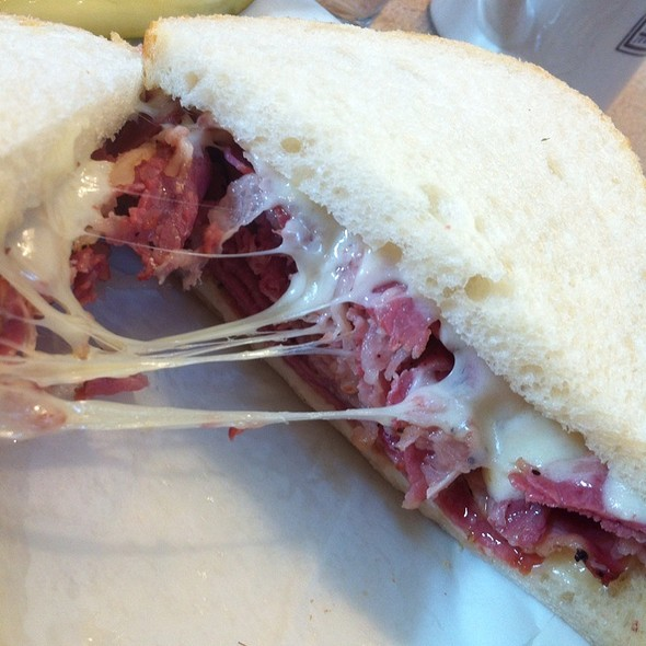 Pastrami And Swiss  @ Mac's Kosher Style Deli