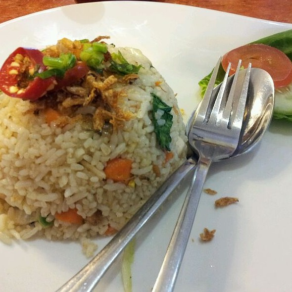 Salted Fish Fried Rice @ U View Cafe