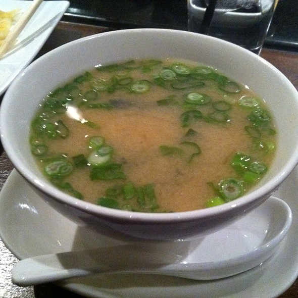 Miso Soup @ Wokcano Asian Restaurant & Lounge